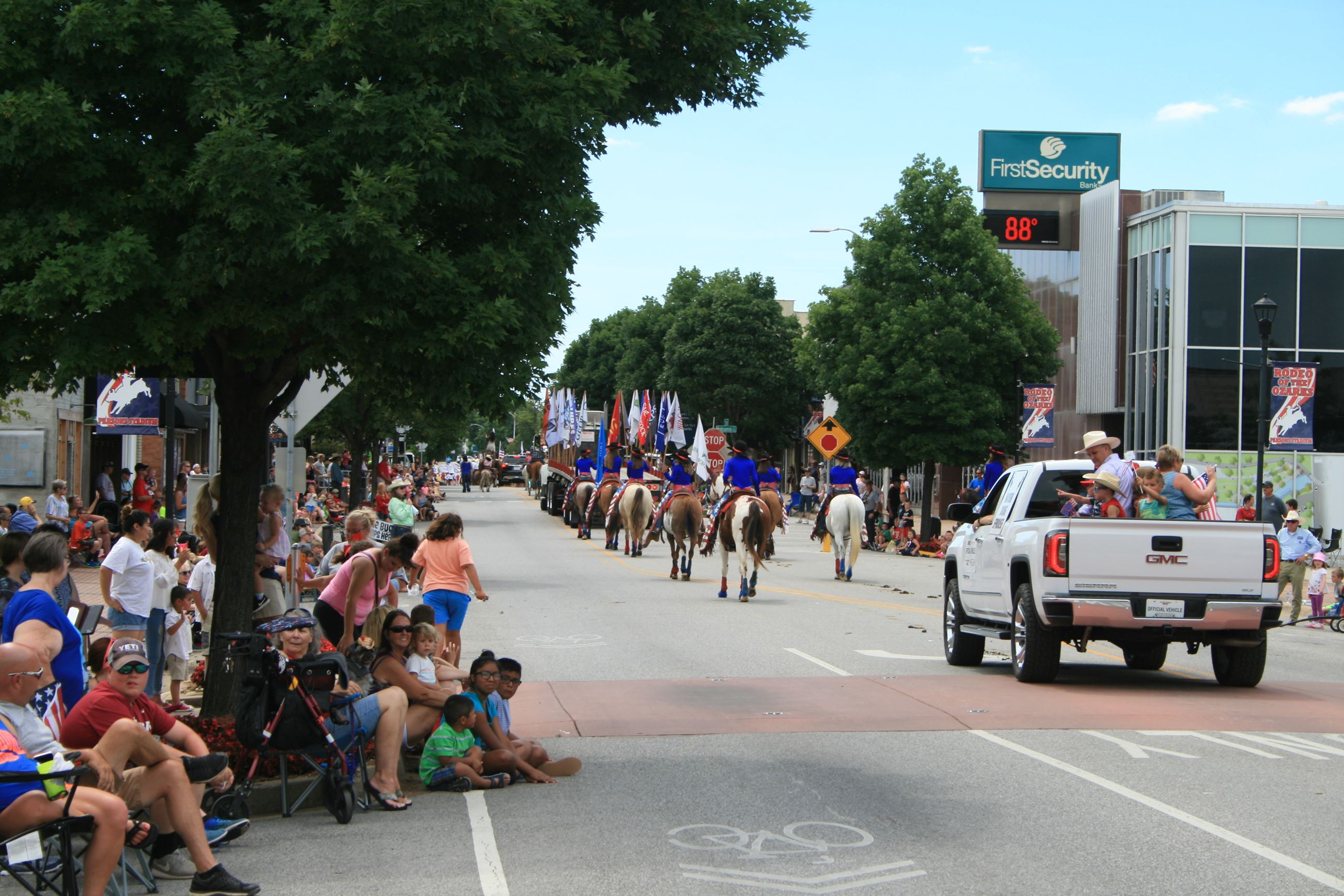 2017 Rodeo of the Ozarks Parade