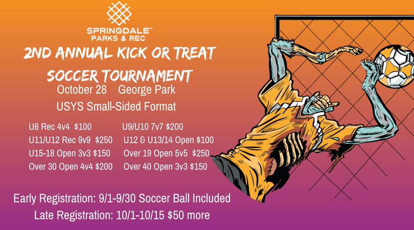 2nd Annual Kick or Treat Soccer Tournament