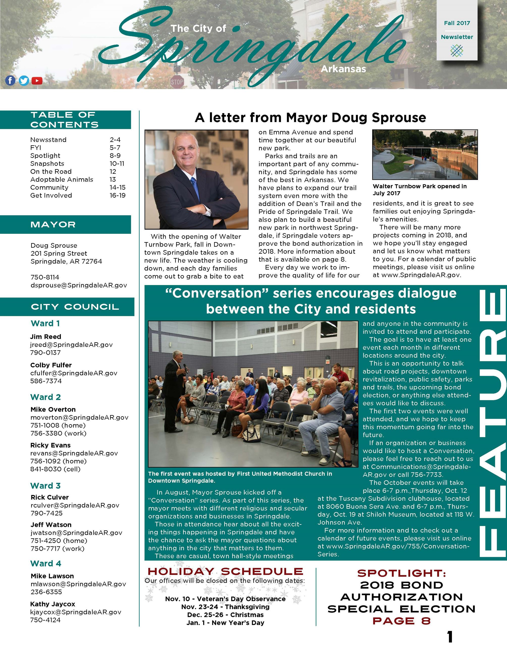 Fall 2017 Front Page