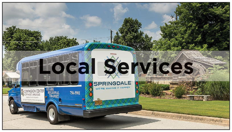 Utilities and local services-Local Services