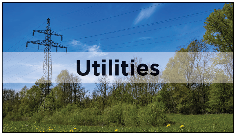 Utilities and local services-Utilities