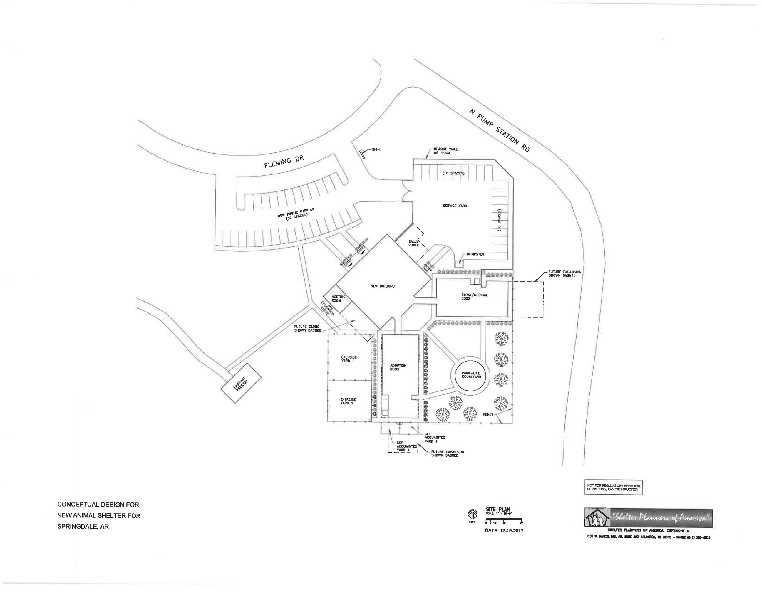 Proposed Location of Animal Shelter