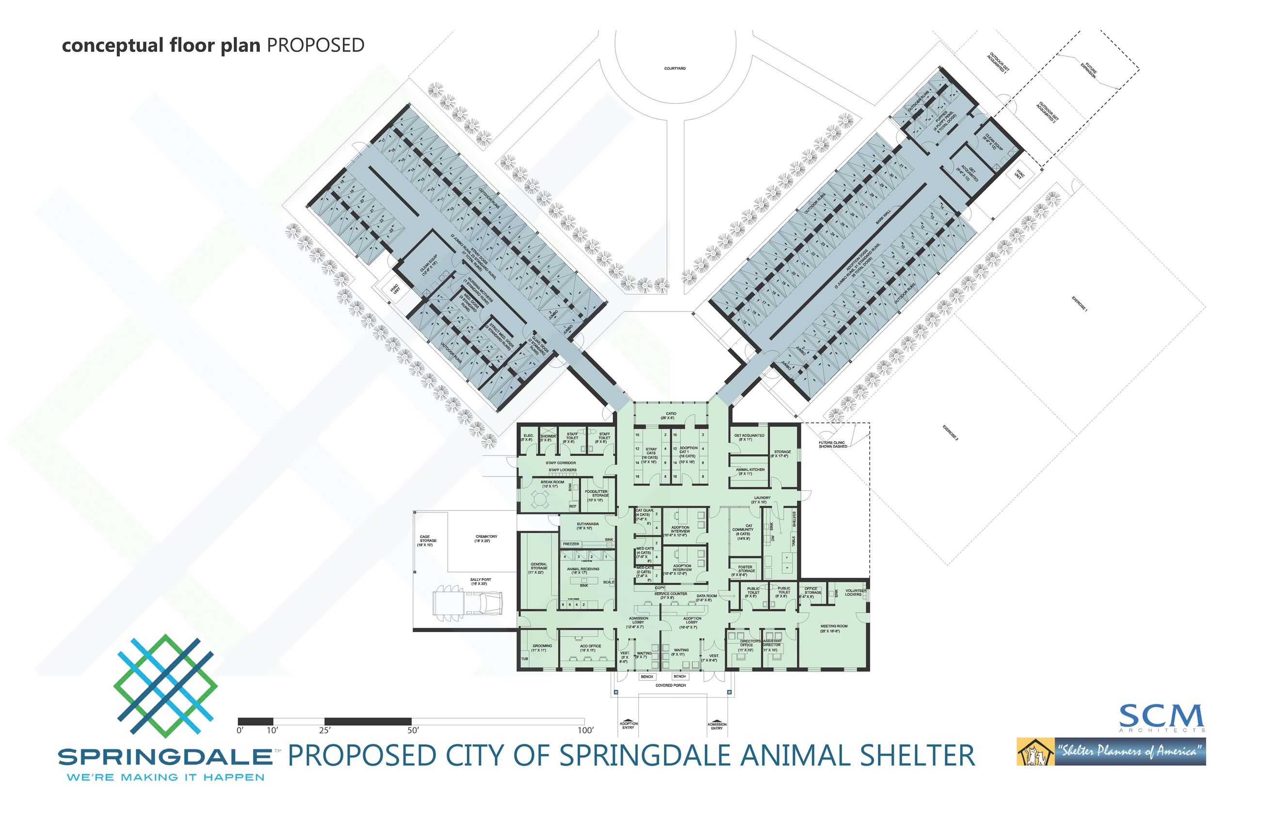 CONCEPTUAL PLAN - Animal Shelter Layout May 2018