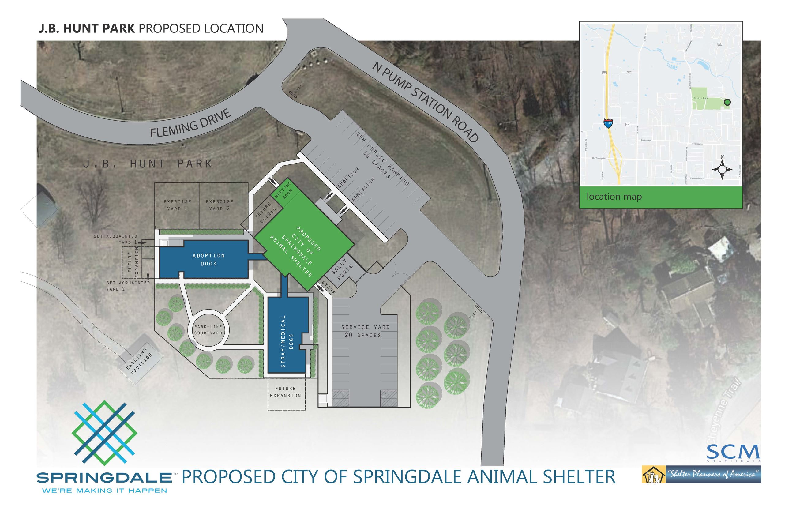Potential Animal Shelter Location 1 - May 2018