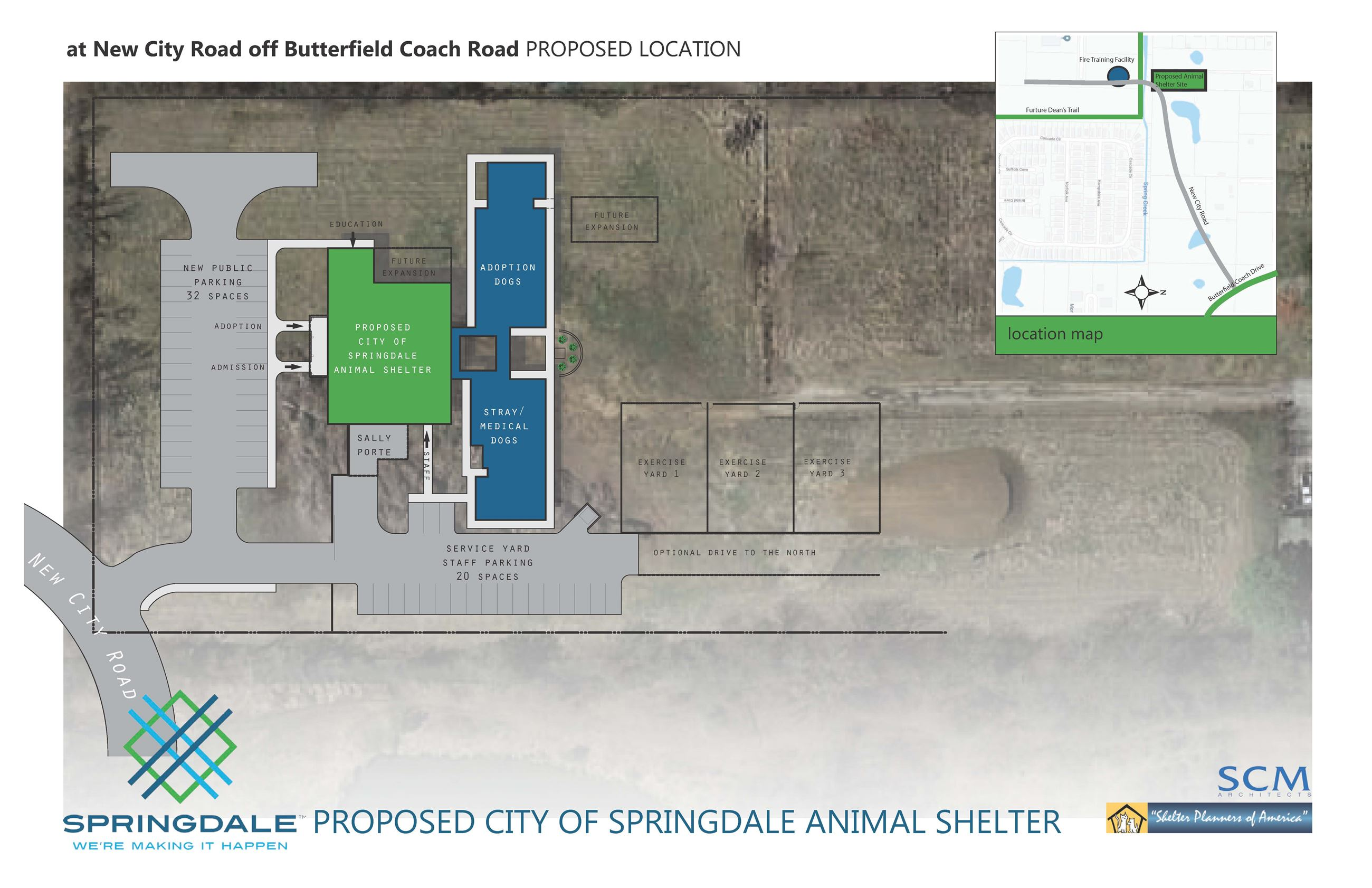 Potential Animal Shelter Location 2 - May 2018