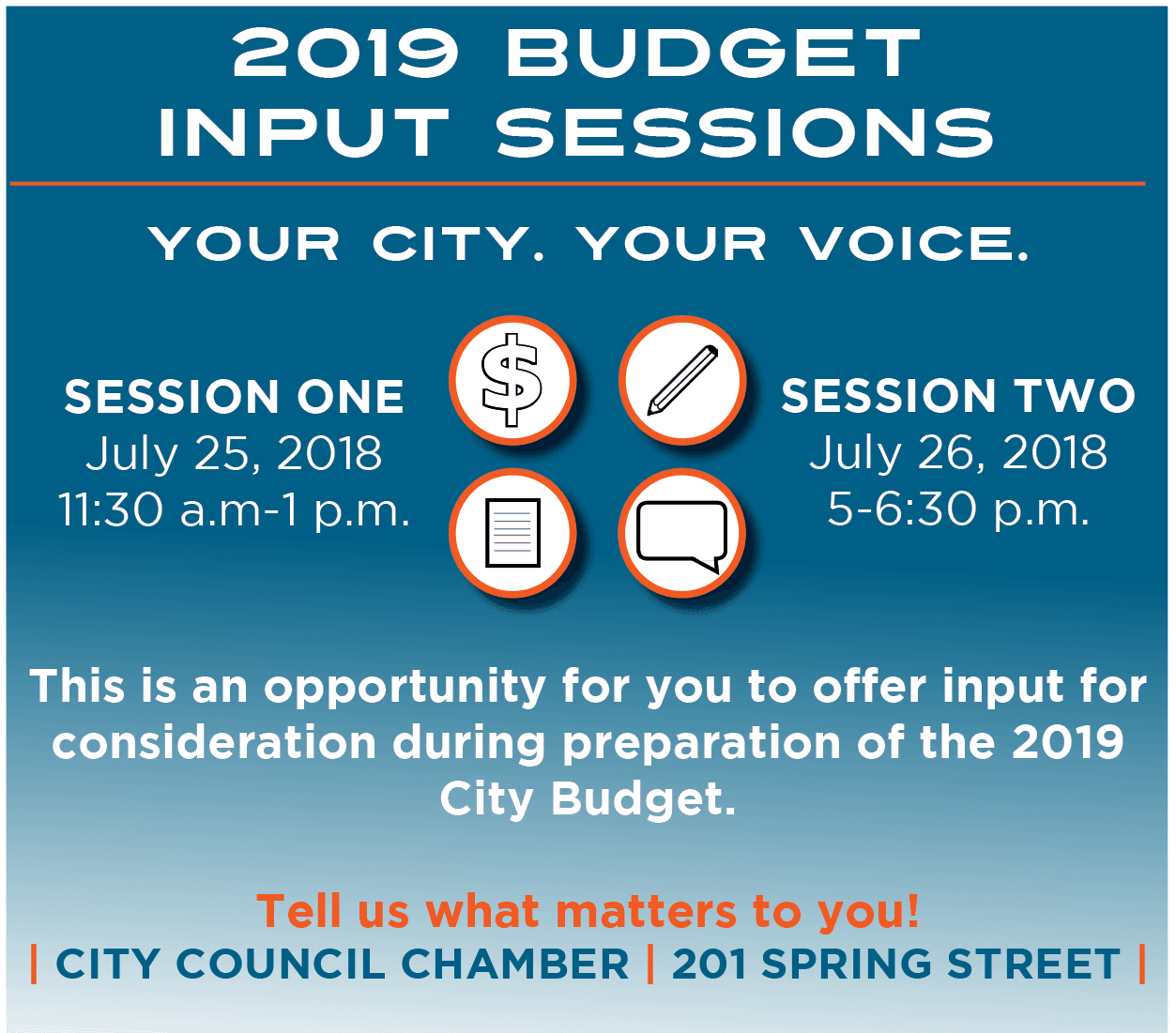 2019 Budget Input Banner Square