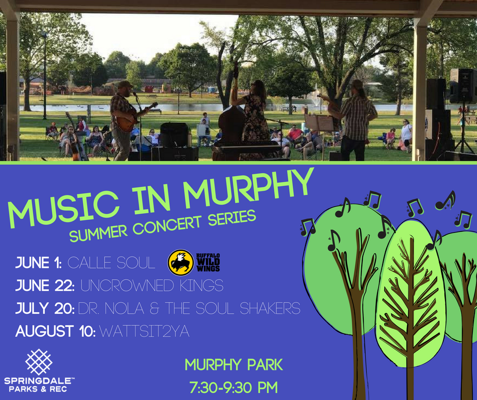Music in Murphy Concert Series 2018