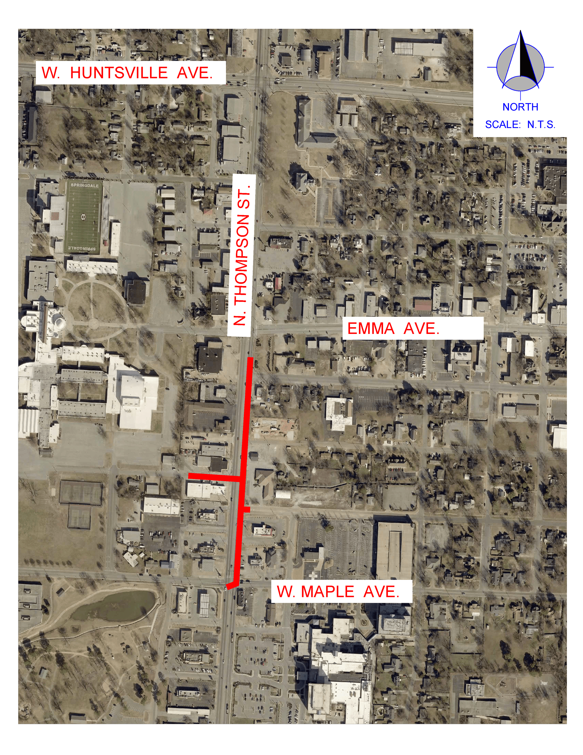 Utility Work and Lane Closure Oct. 8-12