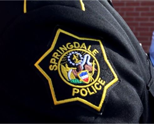 Springdale police patch