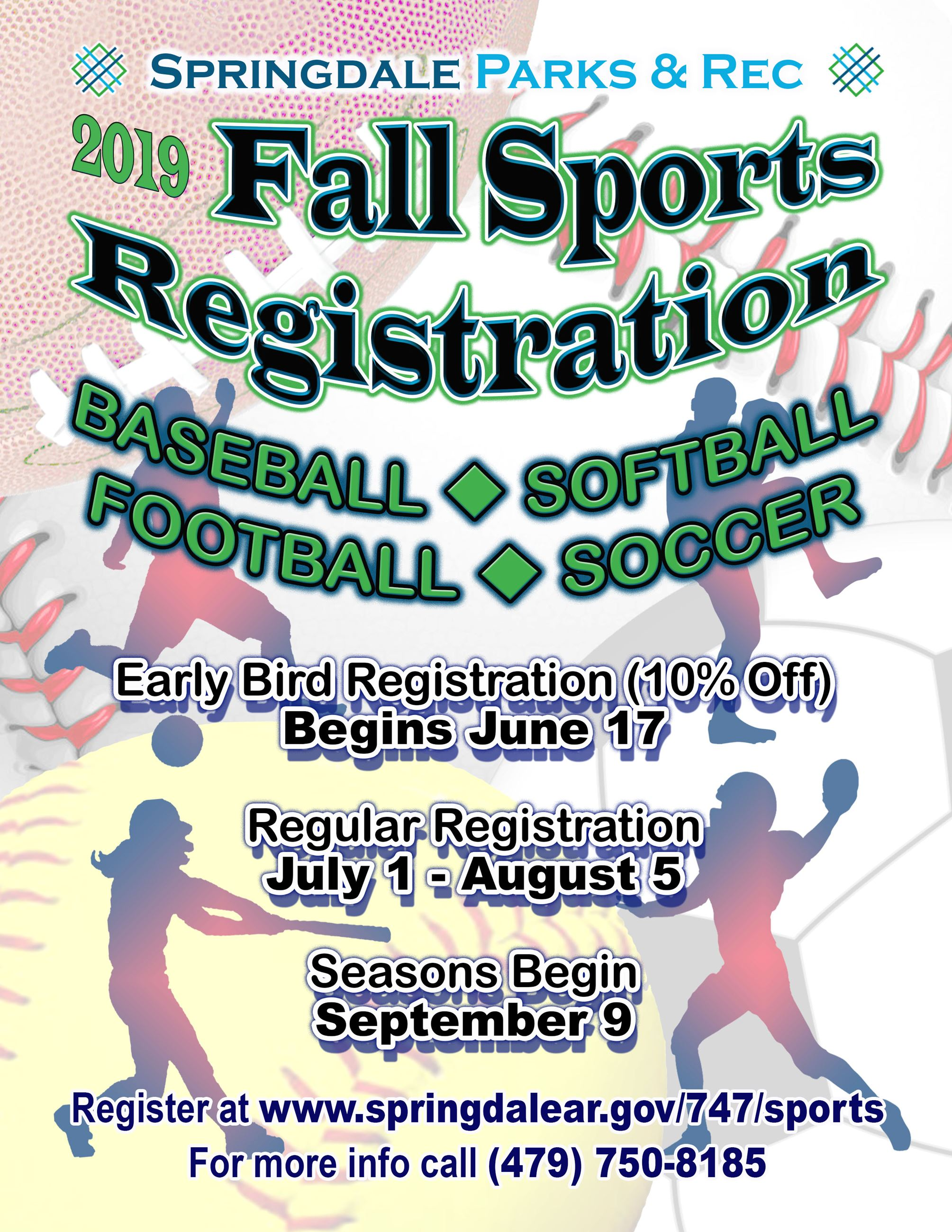 Fall Registration Flyer