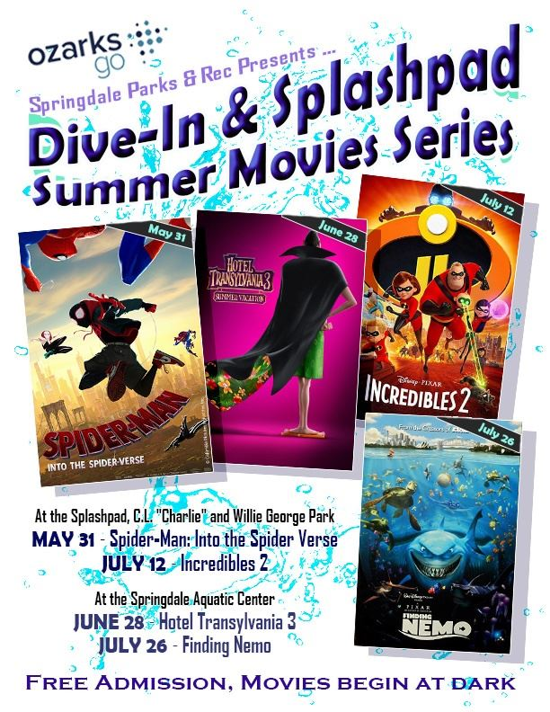 Summer Movie Flyer