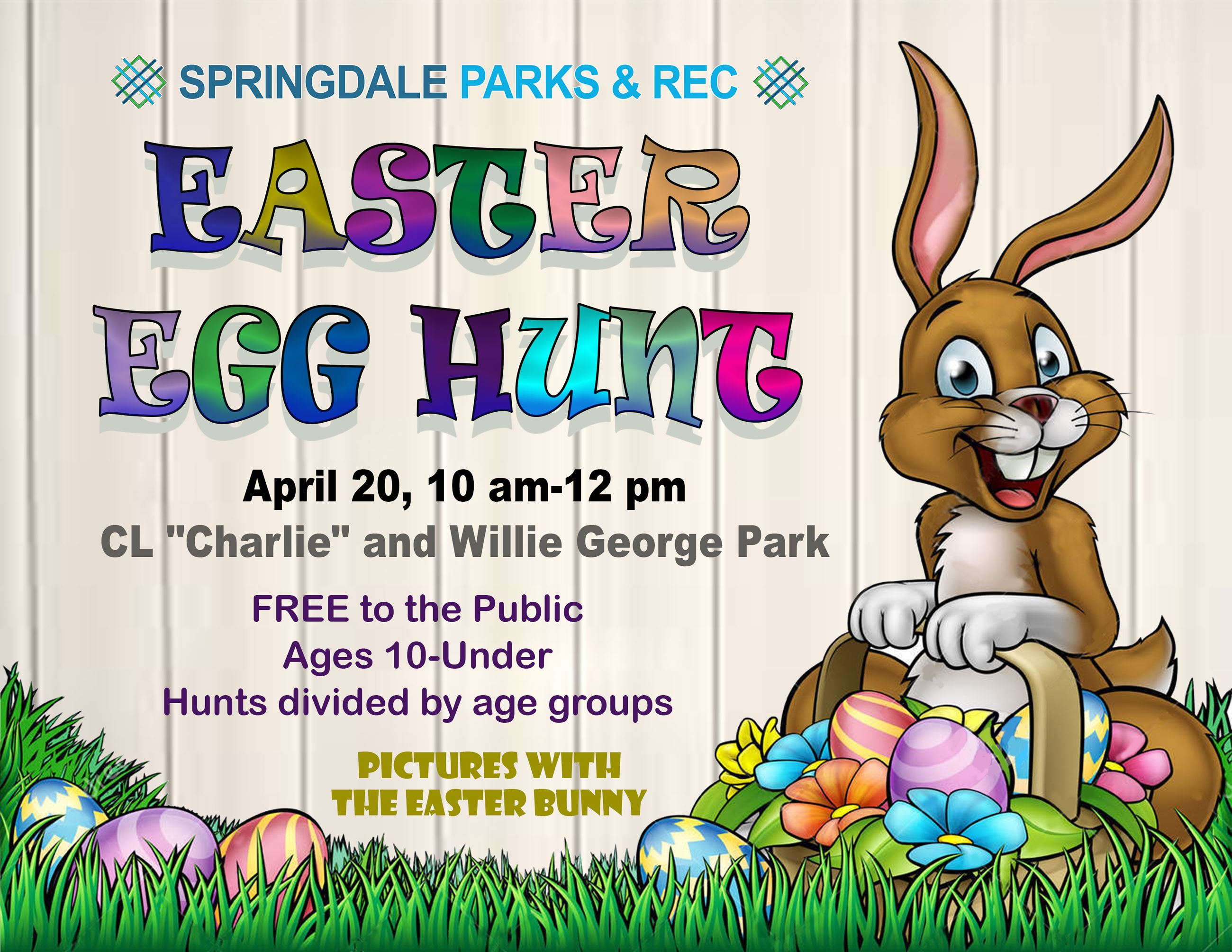 East Egg Hunt Flyer