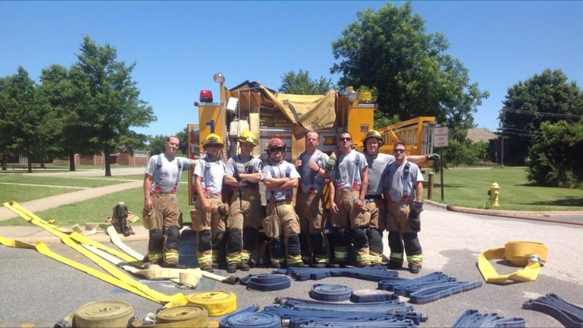 SFD Hose Training Picture